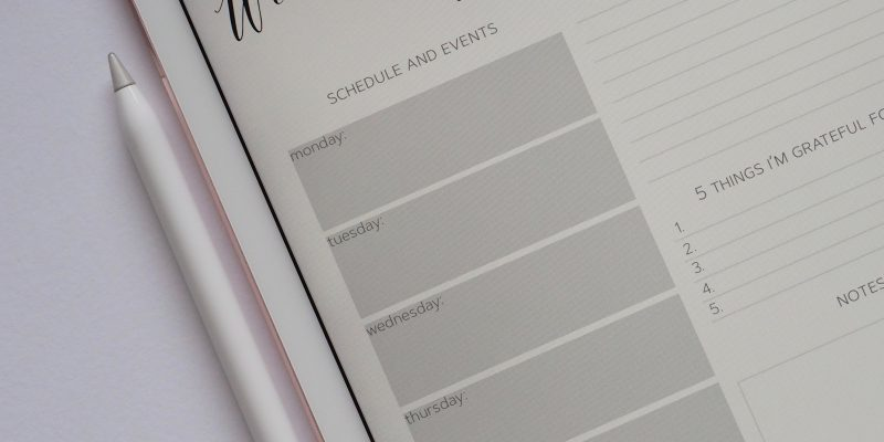 How to use calendar blocking (time-blocking) to stay organized